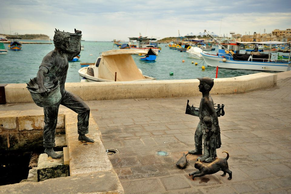 Malta na kousky